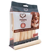 Amazing Dog Treats  Bull Tails Regular 6 inch 12 Pack