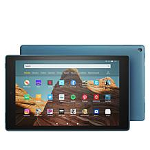 Amazon Fire HD 10 Tablet with 32GB SD Card and Voucher