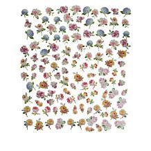 Anna Griffin® 120-piece Hydrangea and Rose 3D Sticker Set