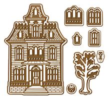 Anna Griffin® 3D Haunted House Dies
