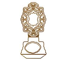 Anna Griffin® Ornate Easel Frame Die Set