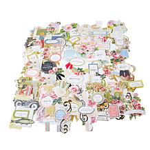 Anna Griffin® Vintage Collage Card Topper Die-Cuts