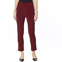 Antthony Crystal Couture Houndstooth Pull-On Pant