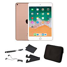 Apple iPad Mini 5 64GB w/Neoprene Sleeve and Accessories