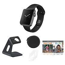 Apple Watch Series 3 With Stand, Screen Protectors and Voucher