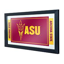 Arizona State University Logo and Mascot Framed Mirror