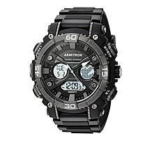 Armitron Men's Black Digital Chronograph Sport Watch