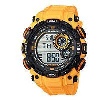 Armitron Men's Yellow/Black Digital Chronograph Sport Watch