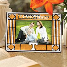Art Glass Horizontal Picture Frame - University of TN