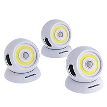 """""""As Is"""" Bell + Howell 3-pack Motion-Activated 200-Lumen Lights"""