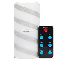 """""""As Is"""" Holiday Candle Projector with Remote Control and Timer"""