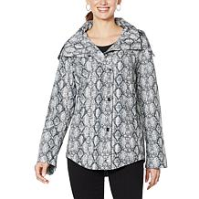 """""""As Is"""" Laurier Wind and Water Resistant Flare Coat"""