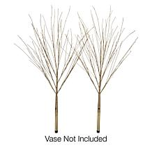 """As Is"" Winter Lane Glitter Twigs 2-pack"