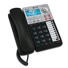 AT&T 2-Line Corded Phone with Answering Machine
