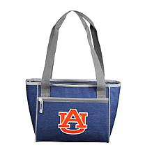 Auburn Crosshatch 16-Can Cooler Tote