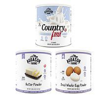 Augason Farms Dairy & Eggs Combo 3-Pack