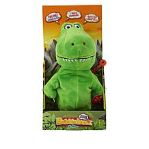 Babble Budz Interactive Plush Toy with 3 Voice Filters - T-Rex