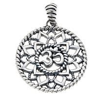 Bali Designs Sterling Silver Om Pendant