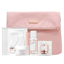 BeautyBio The Quench with Bright Eyes Gel Set with Makeup Bag