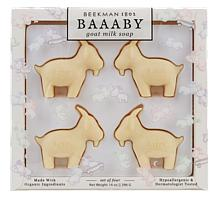 Beekman 1802 4-piece Baaaby Goat Milk Bar Soap Set