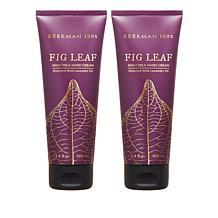 Beekman 1802 Fig Leaf Goat Milk Hand Cream Duo