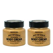 Beekman 1802 Pot of Gold Goat Milk Shimmer Body Cream Duo - 8 fl. oz.