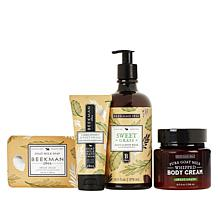 Beekman 1802 Sweet Grass Goat Milk 4-piece Set