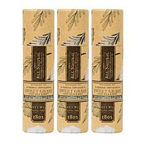 Beekman 1802 Sweet Grass Goat Milk Lip Balm Trio