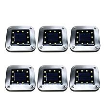 Bell + Howell 6-pack Deluxe Square Solar Disk Lights