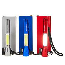 Bell + Howell  Flashlight, Seat Belt Cutter & Window Breaker 3-pack