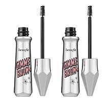 Benefit Cosmetics Gimme Brow+ Dark Brown Warm Brow Volumizing Gel Duo