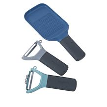 BergHOFF Leo 3-piece Stainless Steel Peeler and Grater Set