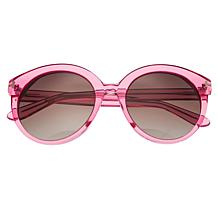 Bertha Violet Polarized Sunglasses with Pink Frame and Brown Lenses
