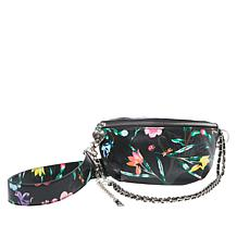 Betsey Johnson Botanical Floral Print Crossbody Belt Bag