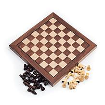 Book-Style Chess Board - Walnut
