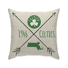 "Boston Celtics 18""X18"" Duck Cloth  Décor Pillow"