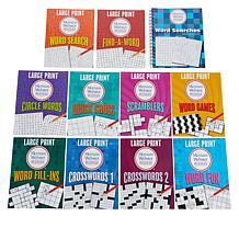 Brain Games Merriam Webster Puzzle Books 11 Book Set