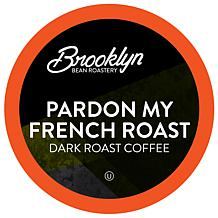 Brooklyn Beans Pardon My French Coffee Pods, Compatible w/ 2.0 K-Cup