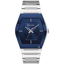 Bulova Men's Futuro Stainless Steel Bracelet Watch
