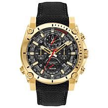 "Bulova ""Precisionist"" Goldtone Men's Champlain Chronograph Watch"