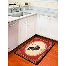 "Bungalow ""Rooster"" Kitchen Mat"