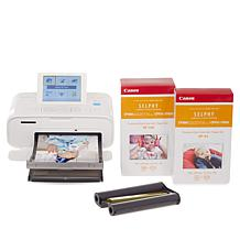 Canon Selphy CP1300 Wireless Photo Printer w/Ink & 167 Sheets of Paper