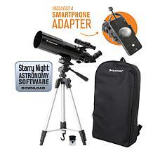 Celestron Travel Scope 80 Portable Telescope with Smartphone Adapter