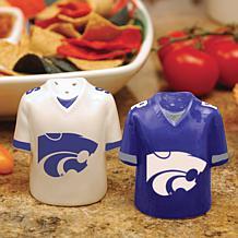 Ceramic Salt and Pepper Shakers - Kansas State Wildcats