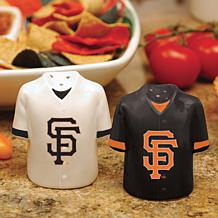 Ceramic Salt and Pepper Shakers - San Francisco Giants
