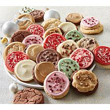 Cheryl's 24-piece Festive Holiday Cookies