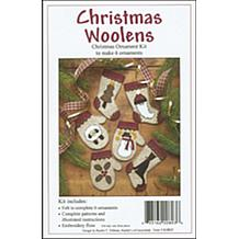 Christmas Woolens Ornament Kit - Makes 6