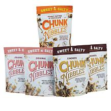 Chunk Nibbles (5) 6.5 oz. Bags Sweet & Salty Snack Mixes