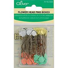 Clover Flower Head Pins - 100-pack