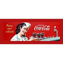 "Coca-Cola ""Coke Waitress"" Canvas Art"